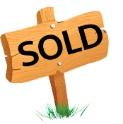 Sold stock sign